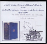 Crane's Directory and Buyer's Guide of the United Kingdom, Europe and Australasia 1899-1900