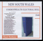New South Wales Commonwealth Electoral 1946 East Sydney 1