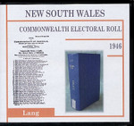 New South Wales Commonwealth Electoral 1946 Lang 1