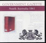 South Australian Government Gazette 1861