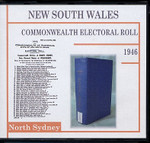 New South Wales Commonwealth Electoral 1946 North Sydney 1
