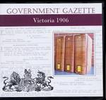 Victorian Government Gazette 1906