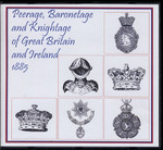 Peerage, Baronetage and Knightage of Great Britain and Ireland 1885