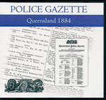 Queensland Police Gazette 1884