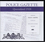 Queensland Police Gazette 1928