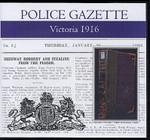Victoria Police Gazette 1916
