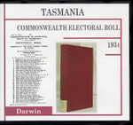 Tasmania Commonwealth Electoral Roll 1934 Darwin 1