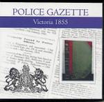 Victoria Police Gazette 1855
