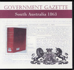 South Australian Government Gazette 1863