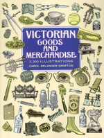 Victorian Goods and Merchandise Clip-Art