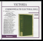 Victoria Commonwealth Electoral Roll 1939 Batman 1