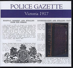 Victoria Police Gazette 1917