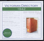 Victorian Directory 1942 (Sands and McDougall)