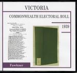 Victoria Commonwealth Electoral Roll 1939 Fawkner 1