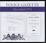 Queensland Police Gazette 1931