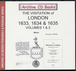 Visitations of London 1633, 1634 and 1635 Volumes 1 and 2