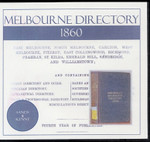 Melbourne Directory 1860 (Sands and Kenny)