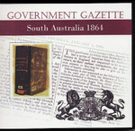 South Australian Government Gazette 1864