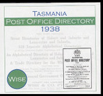 Tasmania Post Office Directory 1938-1939 (Wise)