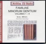 Familiae Minorum Gentium (Volumes 1-4)