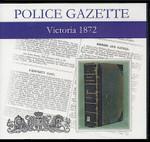 Victoria Police Gazette 1872
