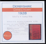 Derbyshire 1928 Kelly's Directory