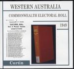Western Australia Commonwealth Electoral Roll 1949 Curtin 1