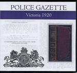 Victoria Police Gazette 1920