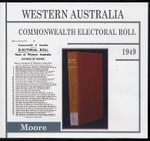 Western Australia Commonwealth Electoral Roll 1949 Moore 1