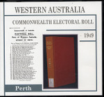 Western Australia Commonwealth Electoral Roll 1949 Perth 1