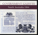 South Australian Government Gazette 1866