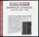 Suffolk Marriage Licences 1684-1839