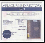 Melbourne Directory 1863 (Sands and McDougall)