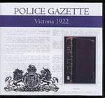Victoria Police Gazette 1922