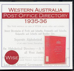 Western Australia Post Office Directory 1935-36 (Wise)