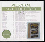Melbourne Street Directory 1942 (Morgan)
