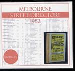 Melbourne Street Directory 1952 (Morgan)