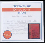 Derbyshire 1928 Kelly's Directory 1
