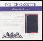 Queensland Police Gazette 1935