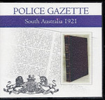 South Australian Police Gazette 1921