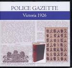 Victoria Police Gazette 1926