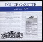 Victoria Police Gazette 1879