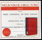 Melbourne Directory 1865 (Sands and McDougall)