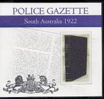 South Australian Police Gazette 1922