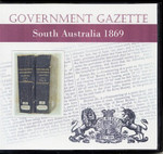 South Australian Government Gazette 1869