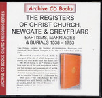 London Parish Registers: Newgate and Greyfriars 1538-1754