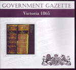Victorian Government Gazette 1865