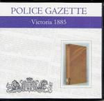 Victoria Police Gazette 1885