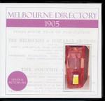 Melbourne Directory 1905 (Sands and McDougall)