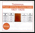 Tasmania Post Office Directory Compendium 1921-1925 (Wise)